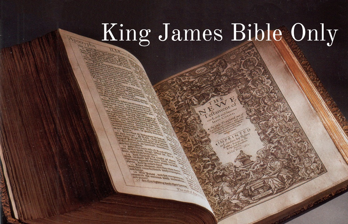 King James Bible Only